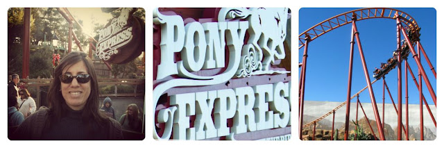 Knott's Berry Farm Pony Express Estilo Familiar