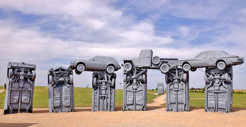Las réplicas más bizarras de Stonehenge