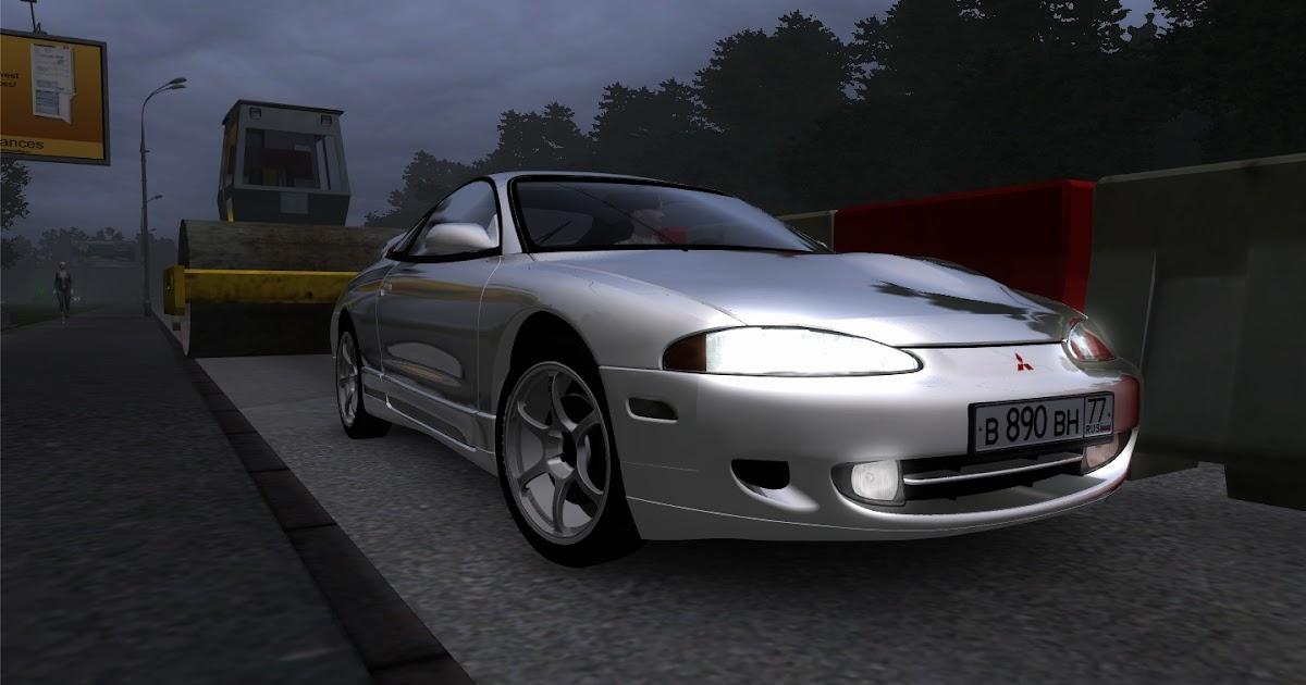 Mitsubishi eclipse 125 city car driving mods