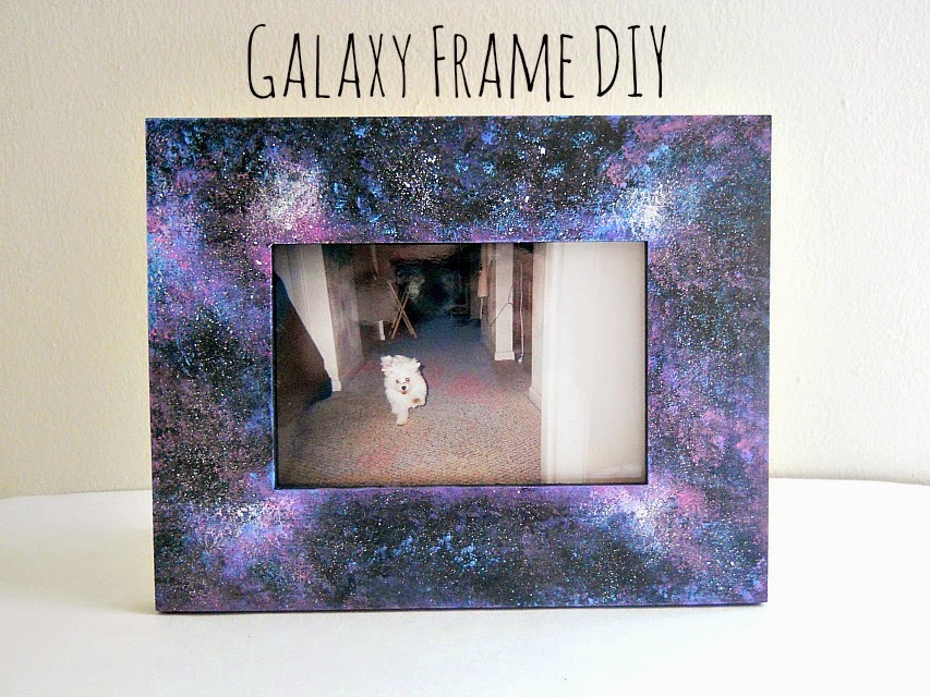 punk projects: Galaxy Frame DIY