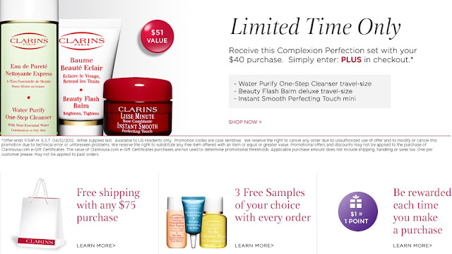 Clarins is your source for all your natural beauty care needs. When you shop Clarins, you're supporting a company dedicated to making the best beauty products using organic, locally-grown, and fair trade ingredients. Clarins coupons can help you save while shopping through the company's plant-based products. Take a look around and you'll.