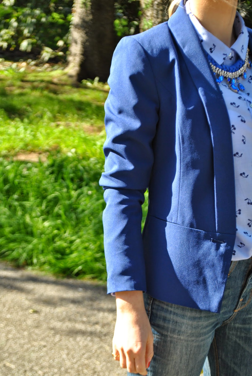 blazer blu outfit blu outfit giacca blu outfit camicia stampa ciliegie camicia pull&bears outfit stringate maschili mariafelicia magno colorblock by felym mariafelicia magno fashion blogger outfit giacca blu come abbinare il blu outfit borsa gialla outfit scarpe blu come abbinare il giallo abbinamenti giallo blu abbinamenti blu outfit aprile 2015 outfit  outfit primaverili casual outfit donna primaverili outfit casual donna spring outfits outfit blue how to wear blue blue blazer yellow bag fashion bloggers italy girl blonde hair blonde girls braids collana pietre blu majique fornarina massimiliano incas