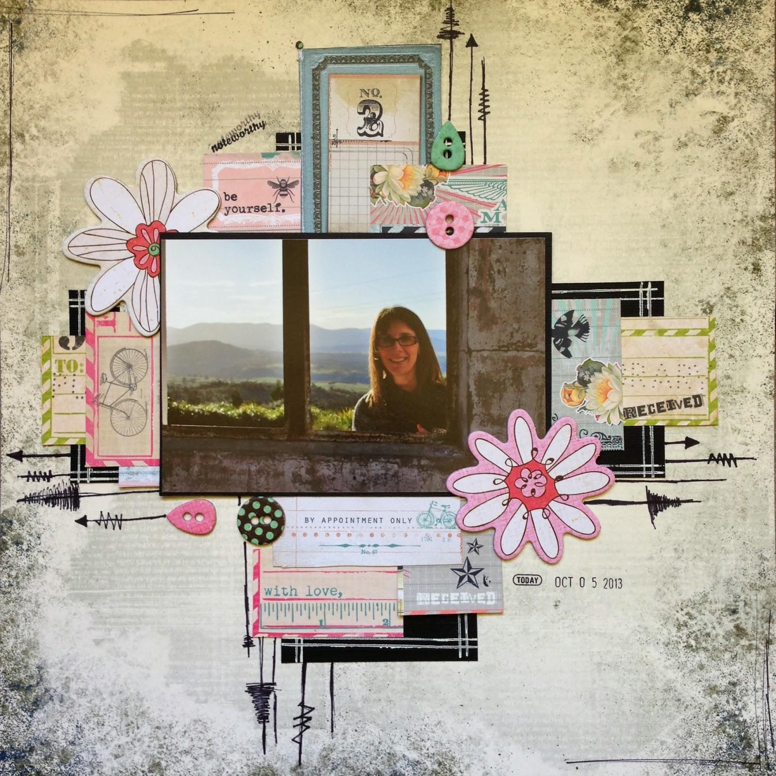 'Noteworthy' Kit by Fleur Millington. Dizzy Izzy Scrapbooking