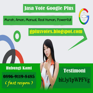 Jasa Vote Google Plus