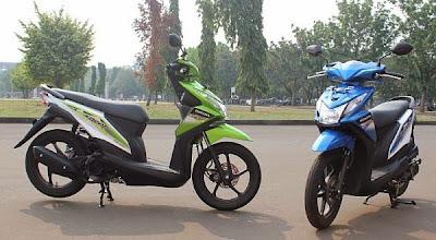Motor Matik dan Sport Paling 'Hijau' di Indonesia