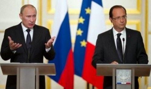 Presiden Rusia dan Ukraina