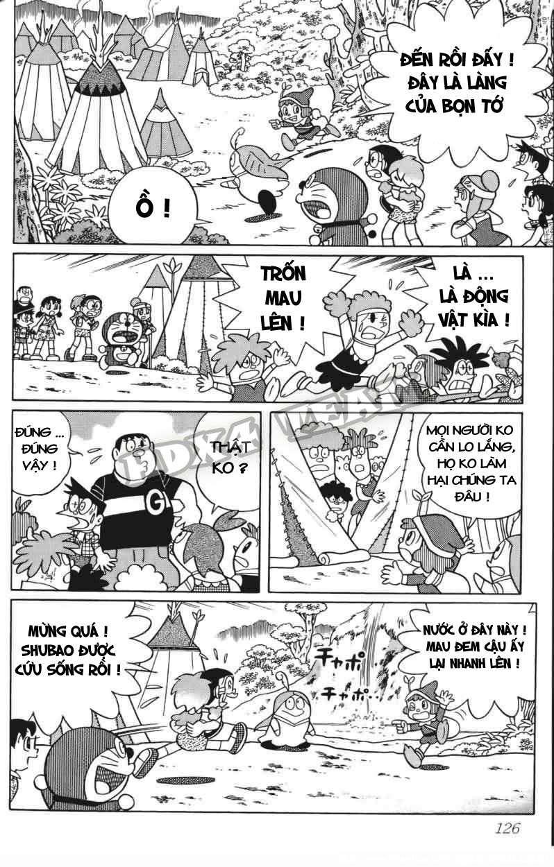 Truyện tranh Doraemon Dài Tập 25 - Nobita và truyền thuyết thần rừng trang 146