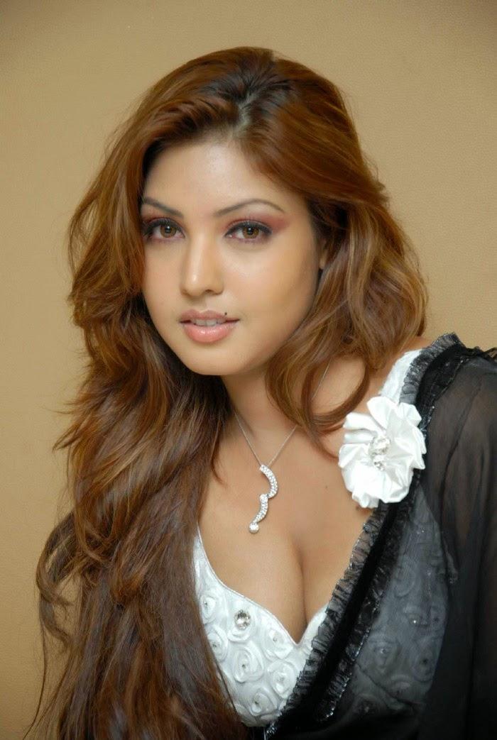 komal jha hot cleavage navel transparent saree pics