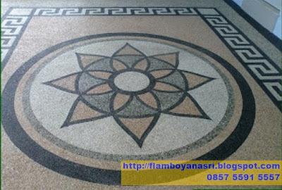Tukang Taman Surabaya Carport Motif Bunga