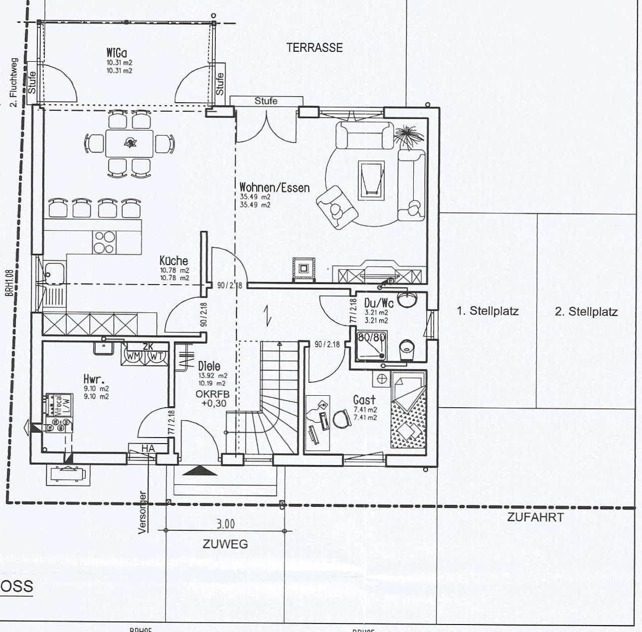 Fingerhaus neo 300  Unser Bautagebuch: Vorabzüge