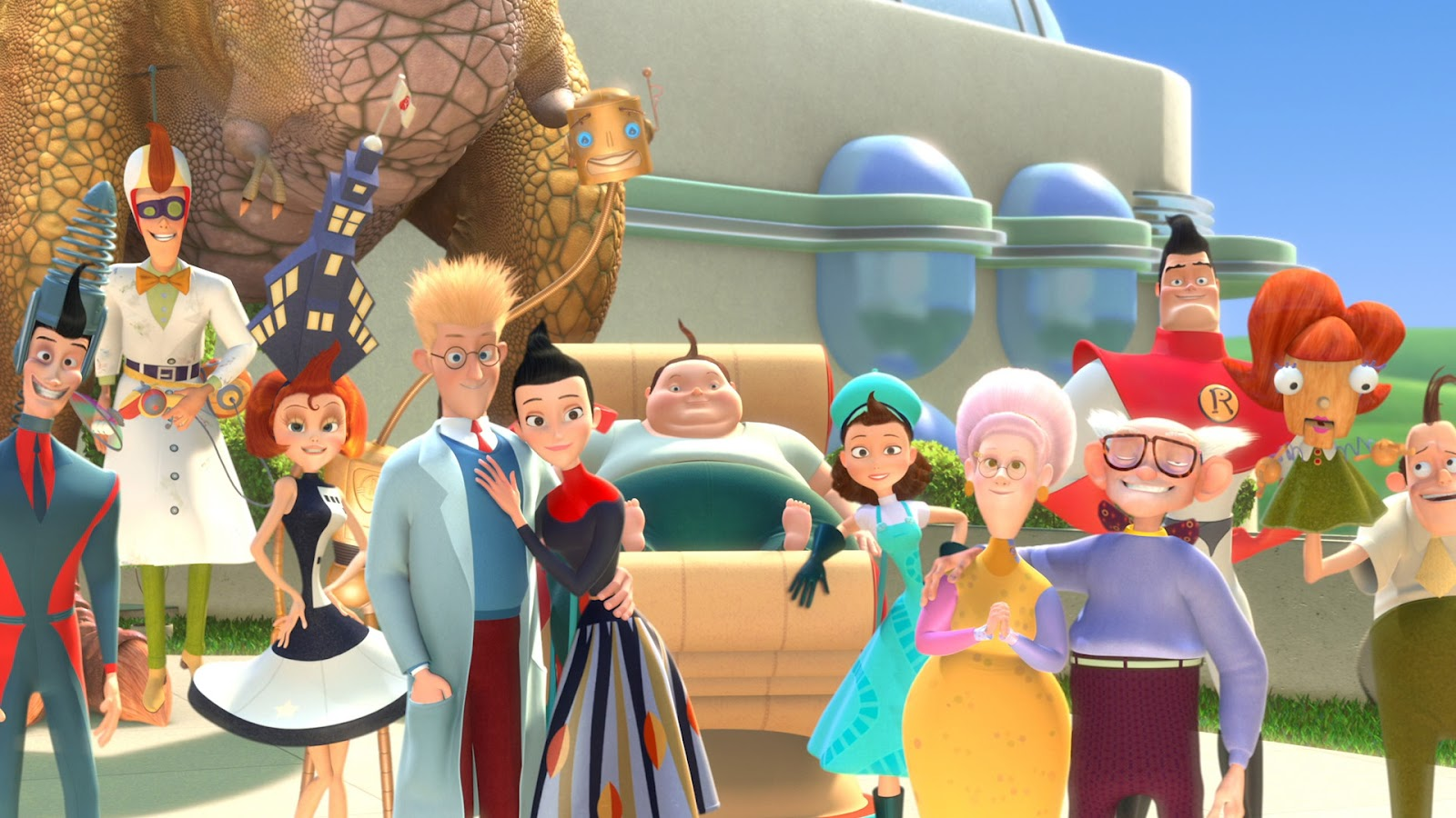 meet the robinsons family review