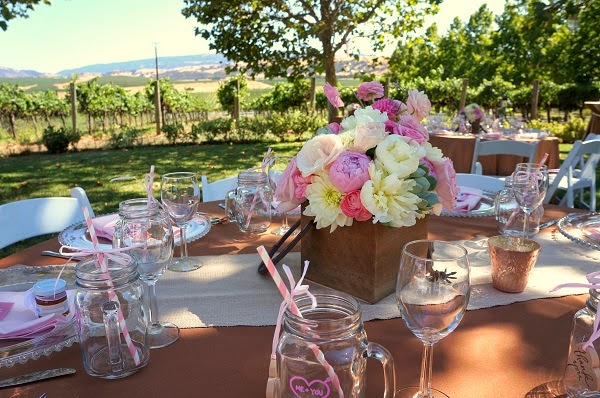 Winery Bridal Shower