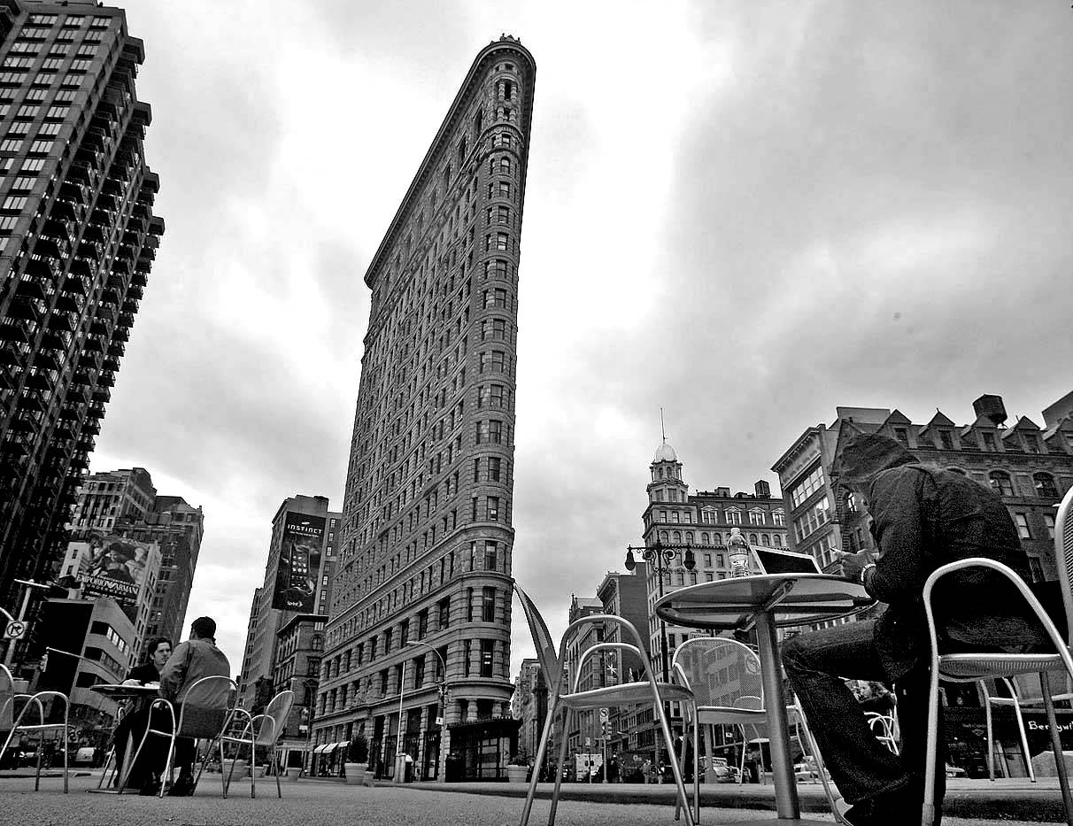 New york city Flatiron buildings photography