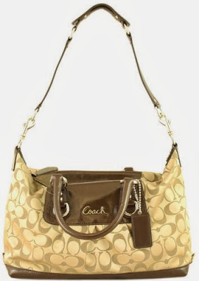 Coach Signature Ashley Sabrina Satchel Duffle Bag Purse Tote 15443