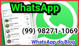 Envie : informações, denúncias e sugestões