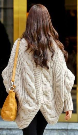 dziany sweter z kol