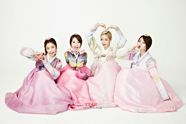 Girls Day Lunar 2014 Hanbok
