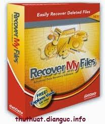Phần mềm phục hồi dữ liệu bị Xoá Cực Mạnh – Recovery My File v4.9.4 Full Crack