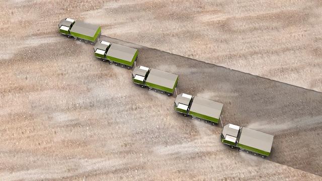 trenes de carretera autocargantes el camion que se carga solo 4