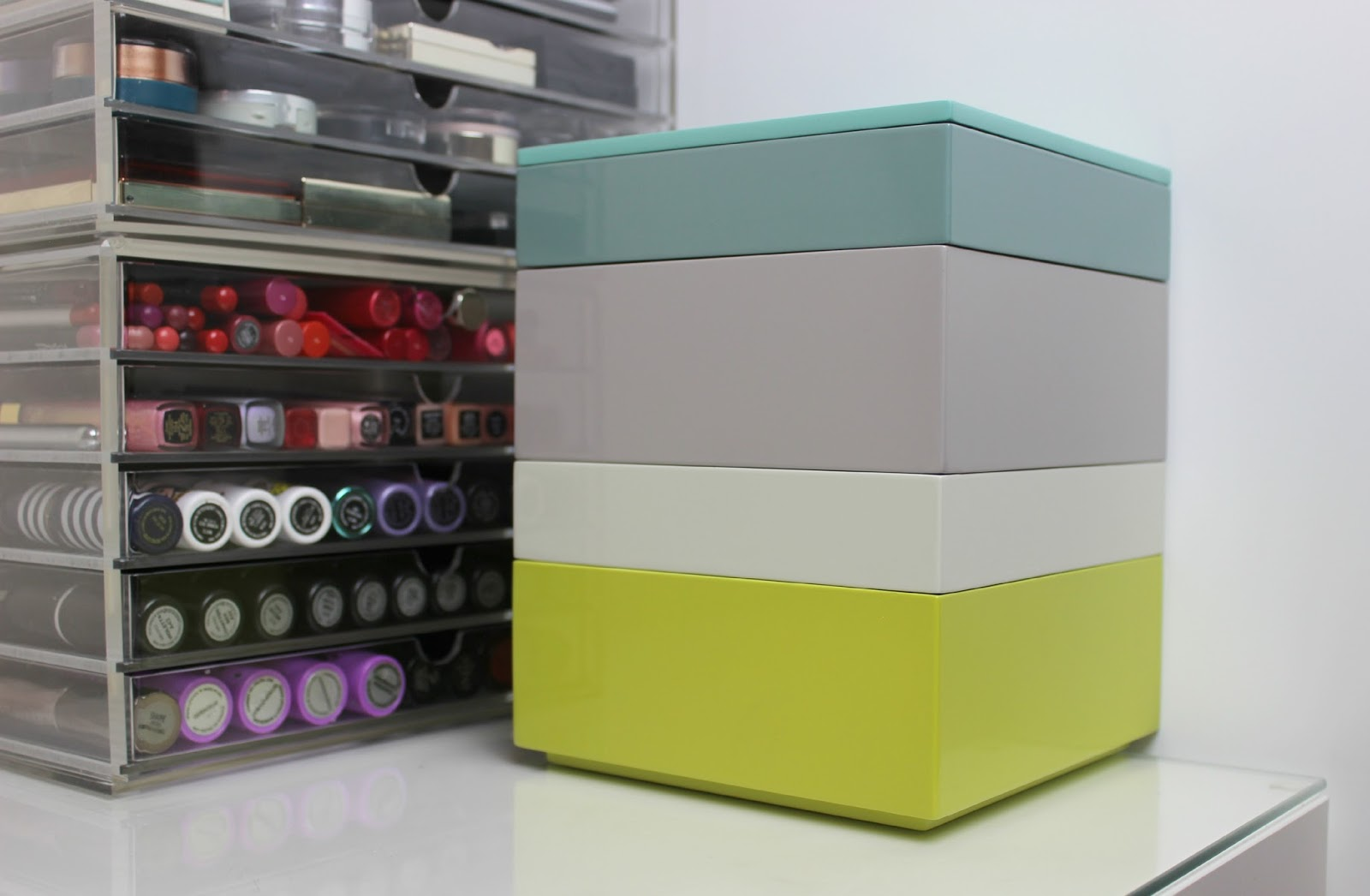 A picture of Habitat Karena Stacking Storage Box
