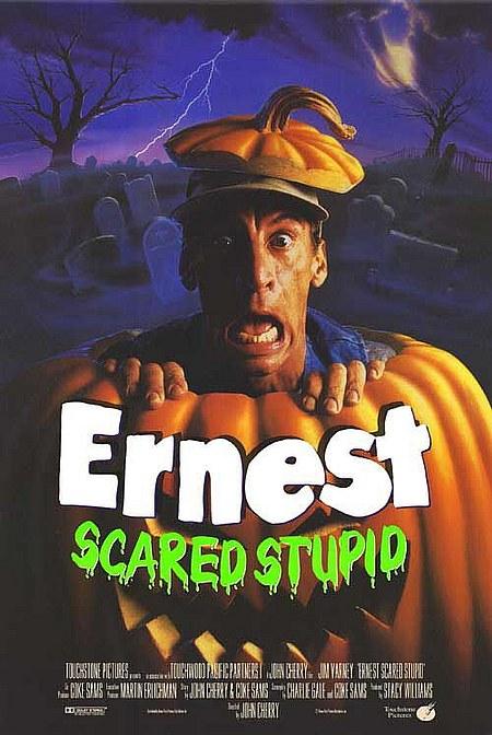 La leyenda del troll, Ernest scared stupid, Jim Varney, Halloween