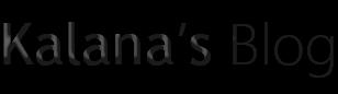 Kalana's Blog