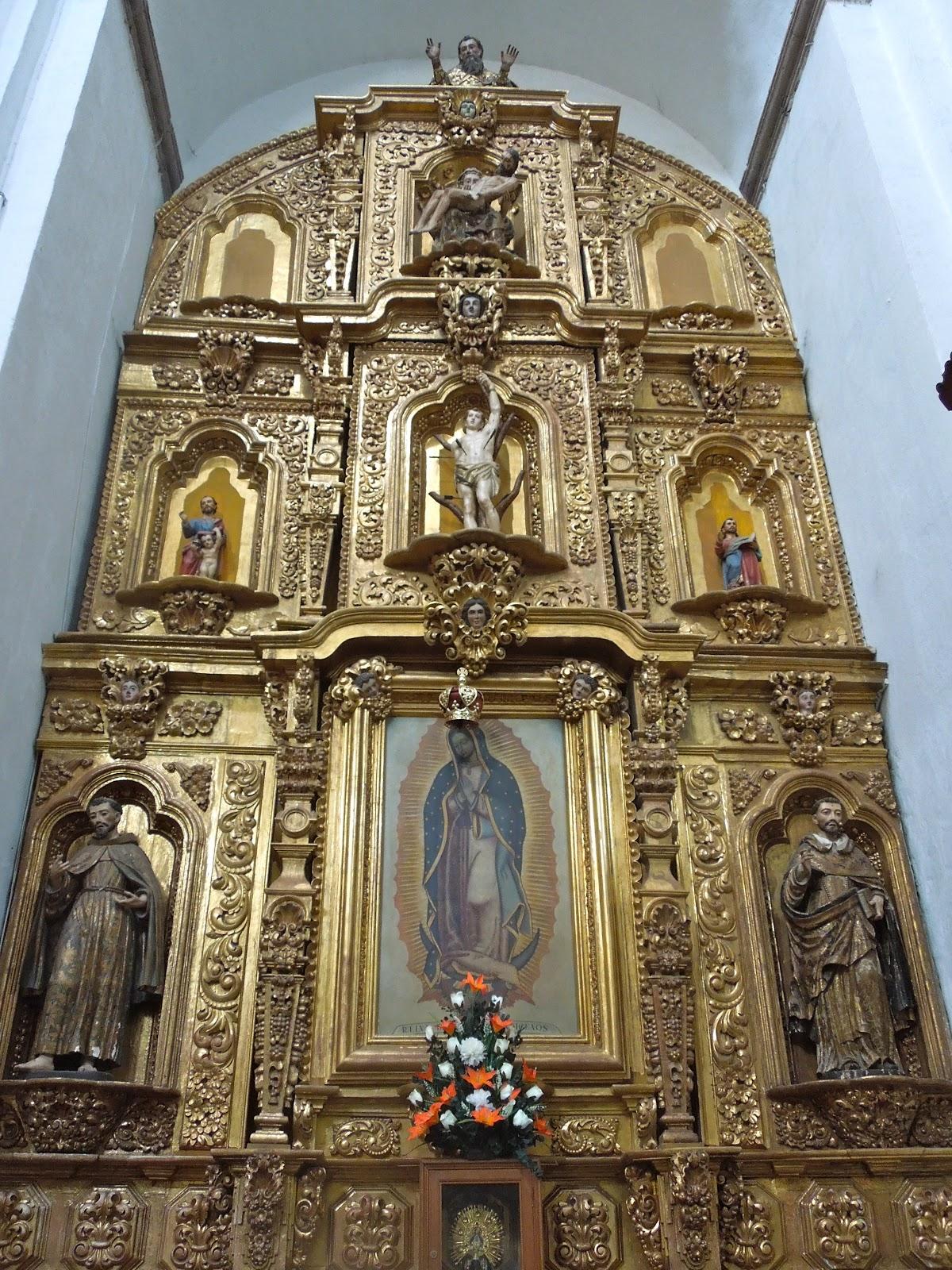 Colonialmexicoinsideandout mestizo baroque the mexican for Define baroque style