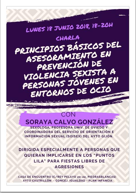 PREVENCION DE VIOLENCIA MACHISTA EN ENTORNOS DE OCIO