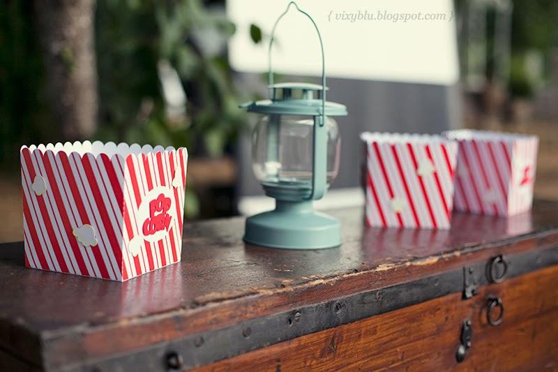 cutie popcorn personalizata, cutie popcorn handmade