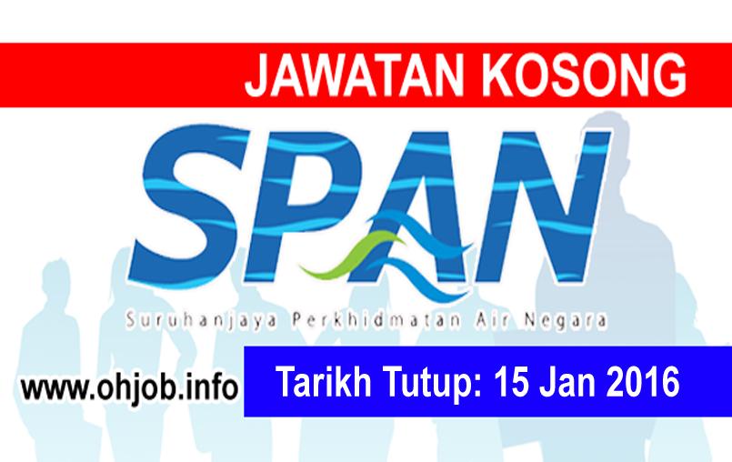 Jawatan Kerja Kosong Suruhanjaya Perkhidmatan Air Negara (SPAN) logo www.ohjob.info januari 2016
