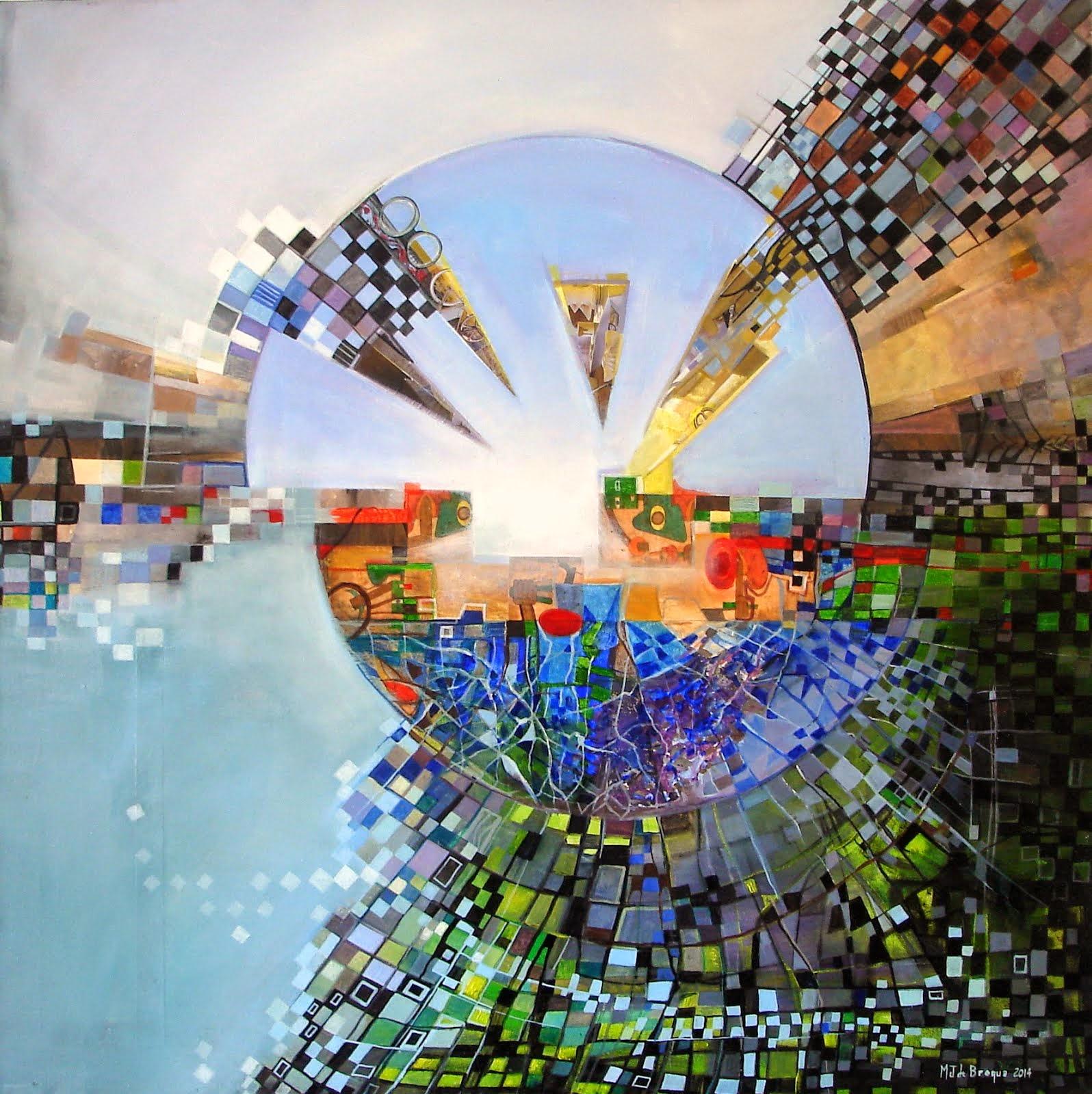 Emergence - 80 x 80 cm - 2014