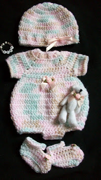 Baby Girl Burial Set