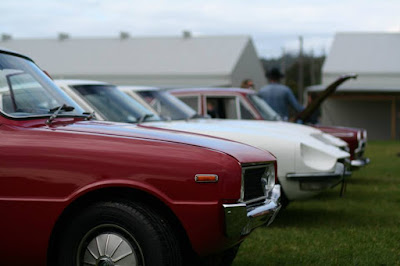 Classic's from Japan and a Ford Cortina