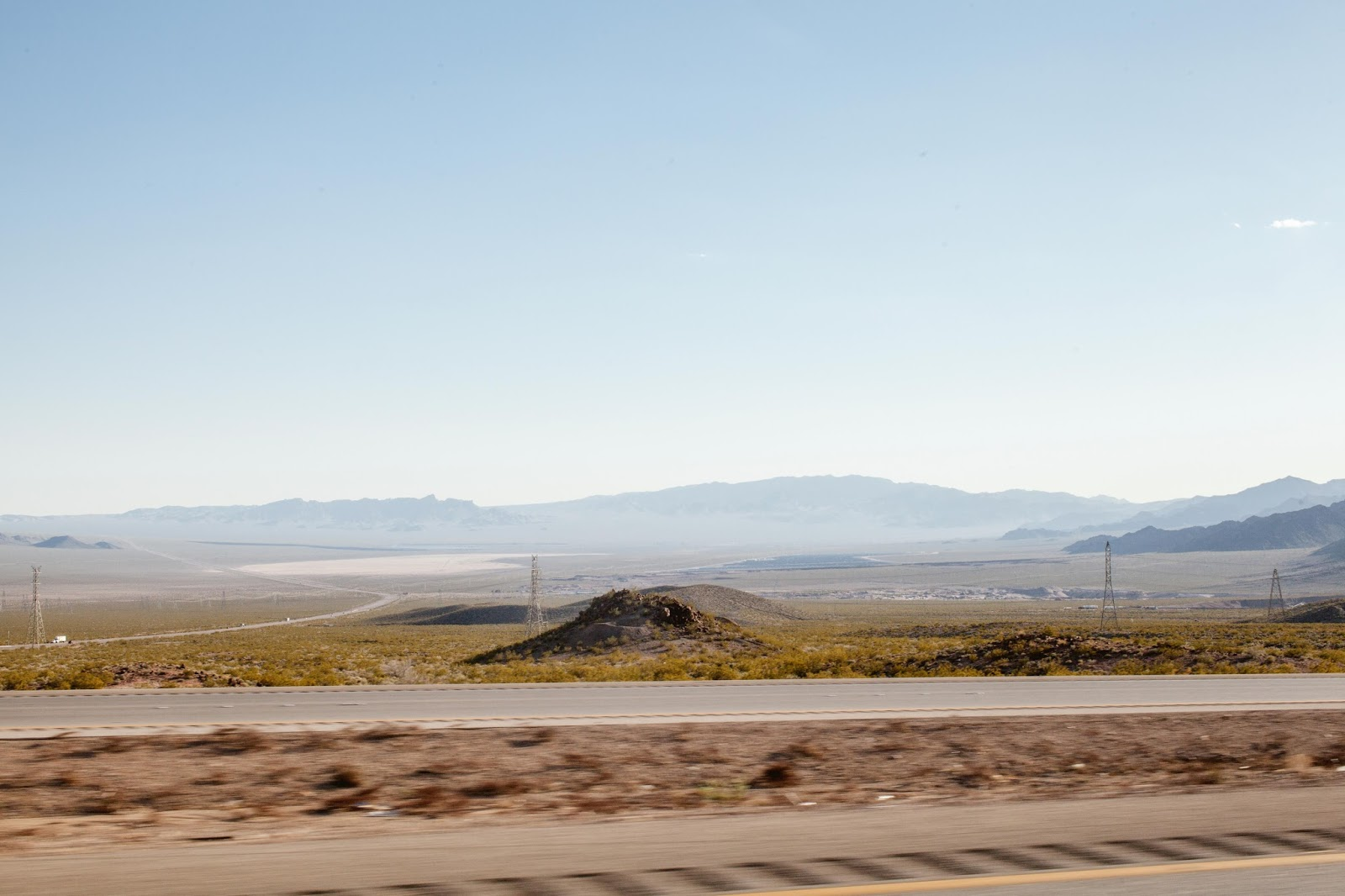 Las Vegas country side