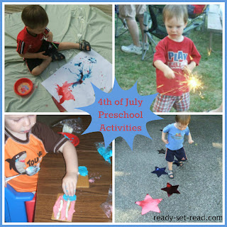 fourth of july, preschool activities