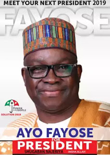 Don't Waste Time On 2019 Presidency, PDP Tells Fayose