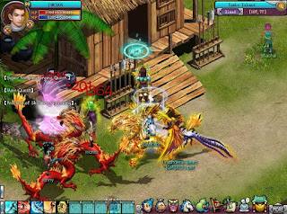 Grand Epic Online (GEO) is a 2.5D browser MMORPG