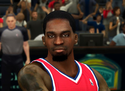 NBA 2K13 Martell Webster Cyberface Patch