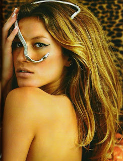 Gisele Bundchen in Vogue Brazil Magazine