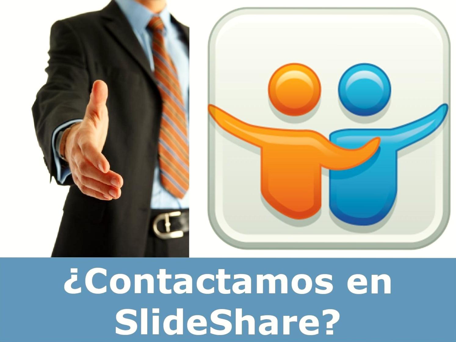 ¿Contactamos en SlideShare?