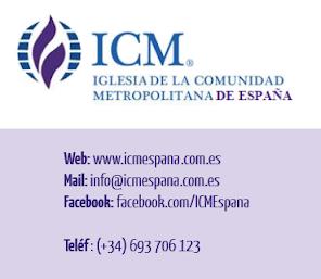Contacta con ICM España