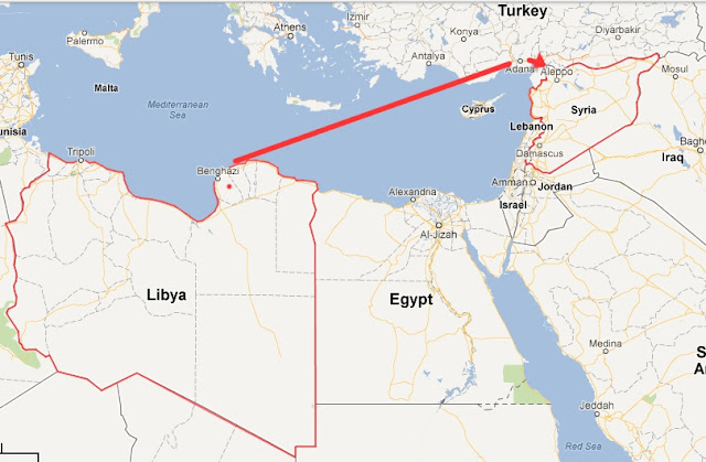 Libyan Terrorists Are Invading Syria LibyaSyria