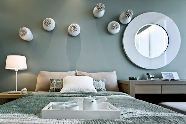 9 الوان زاهية لغرف النوم المودرن
