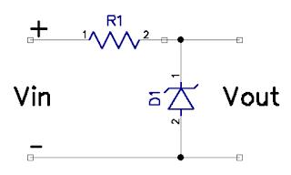 Dioda zener pada rangkaian paralel