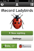 iRecord Ladybirds app