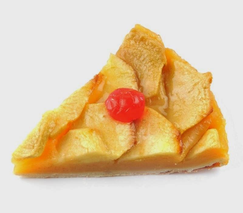 Torta de Manzanas a la Crema