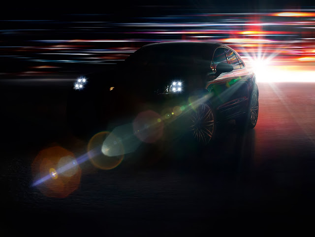 Porsche Macan official photo