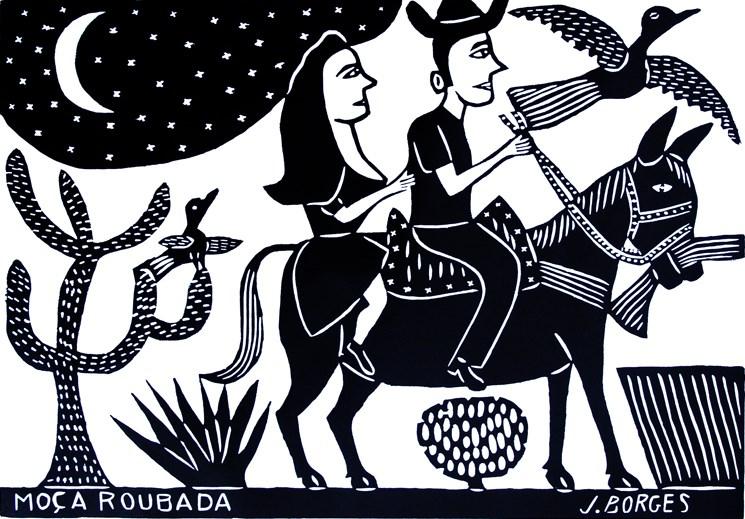 Moça Roubada - J Borges