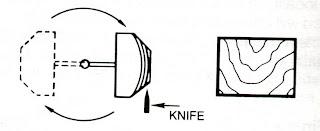 half round veneer
