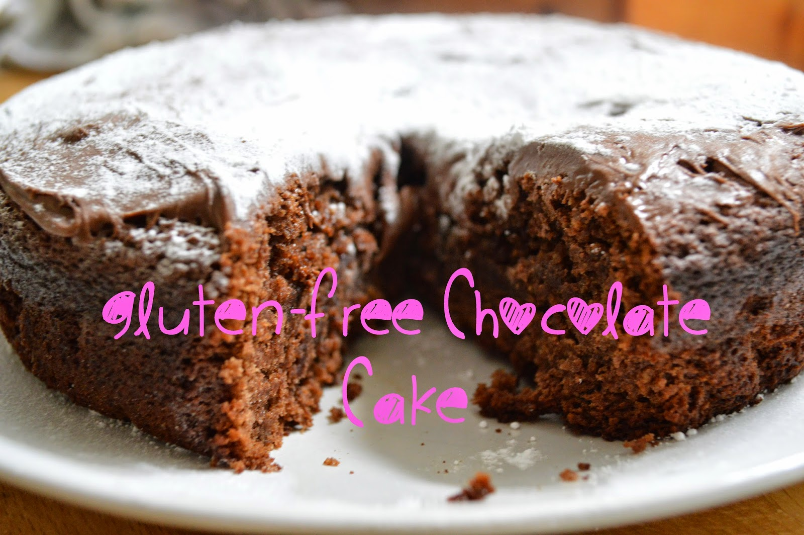 simple, gluten-free chocolate cake, grams, UK, recipe, home baking, elderflower, tasty, delicious